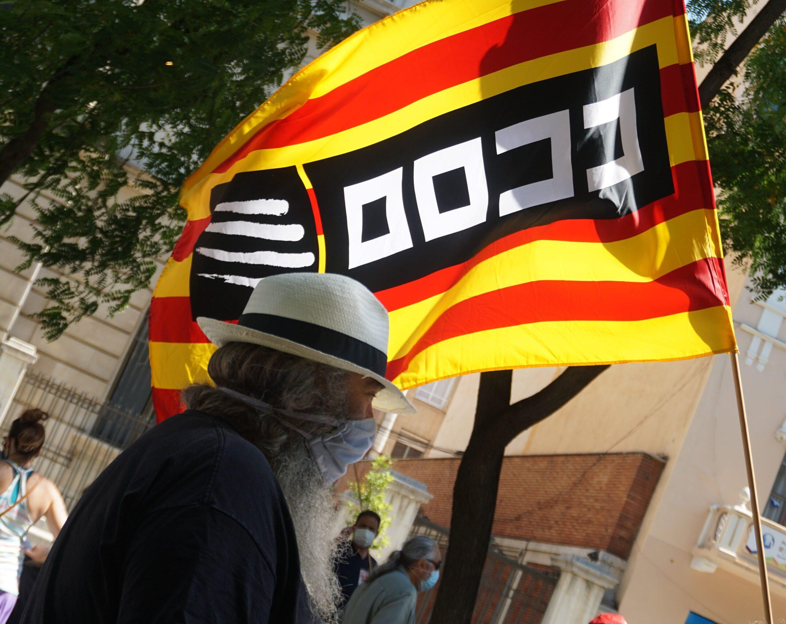 Manifestació Tarragona COVID
