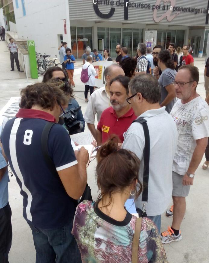 Ignauguració de curs amb premsa