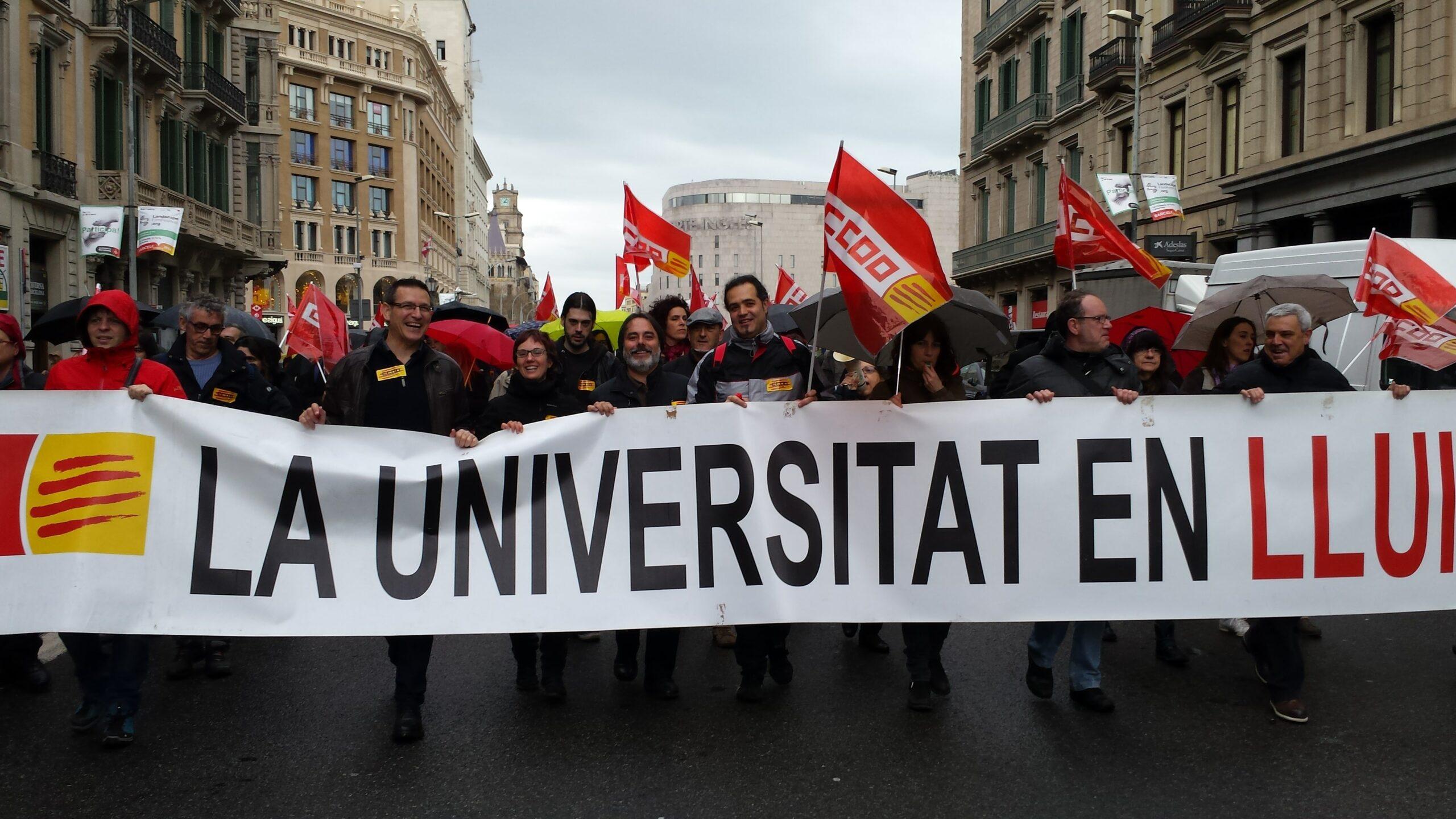 Manifestació BCN